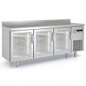 Mesa Congelación p/cristal acero inox Coreco MCSV-150 (ver opciones)
