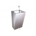 Lavamanos registrable con pedal de agua fria y calienteFricosmos