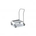 Carro para cestas con asa Acero inox. 520x520