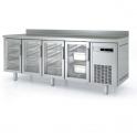 Mesa fría GN 1/1 puertas de cristal Coreco MRGV-150 (ver opciones)