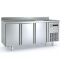Mesa fría GN 1/1 con fregadero Coreco MRG-150 (ver opciones)