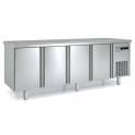 Mesa fría central GN 1/1 acero inox Coreco MFCG-150 (ver opciones)