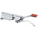 Pedal mezclador de agua fría y caliente con palanca de bloqueo