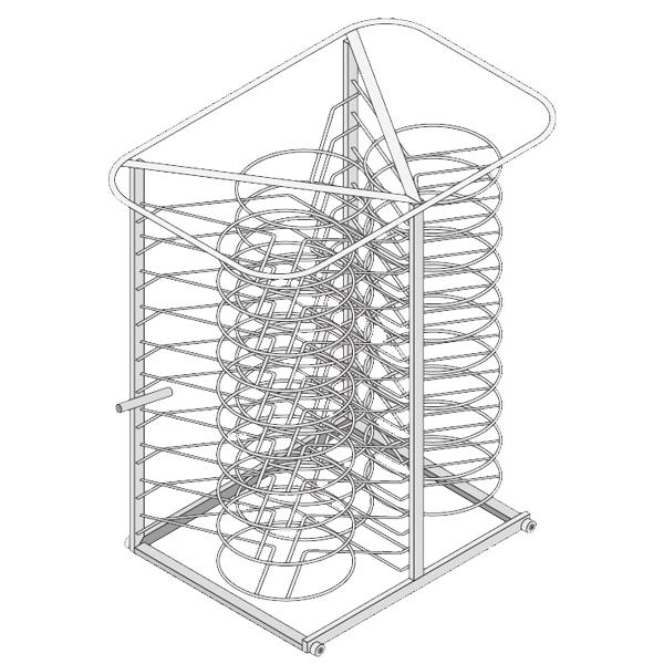 Rack m vil para platos modelos 61 y 101 consultar precio - Rack para platos ...