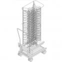 Rack móvil para platos Modelos 201 y 202 (Consultar precio)