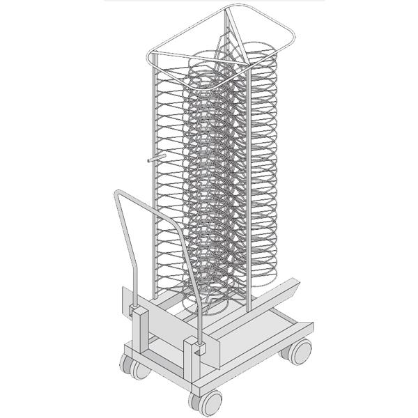 Rack m vil para platos modelos 201 y 202 consultar precio - Rack para platos ...