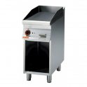 Fry-top liso a gas sobre mueble abierto Lotus FTR-74G 40x70x90h