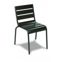 Silla Modelo M1651 Armazón, asiento y respaldo en aluminio plastificado (Consultar disponibilidad)