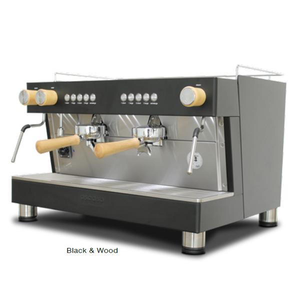 Cafetera industrial Ascaso Barista Pro 2 GR Black Wood (Café