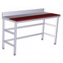 Mesa de preparación mural acero inox Fricosmos media encimera polietileno 1000X600 (ver opciones)