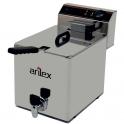 Freidora eléctrica Arilex EVO10G con grifo de vaciado