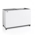 Arcón Congelador Eurofred IC 400 SC.Tapa Corredera Cristal 1300x630x892 mm