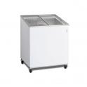 Arcón Congelador Eurofred IC 200 SCE. Tapa Corredera Cristal 720x615x949 mm