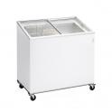 Arcón Congelador Eurofred IC 300 SCE. Tapa Corredera Cristal 1010x615x949 mm