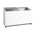 Arcón Congelador Eurofred IC 400 SCE. Tapa Corredera Cristal 1310x615x949 mm