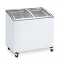 Arcón Congelador Eurofred IC 100 SCEB. Tapa Corredera Cristal Curvo 570x570x885 mm