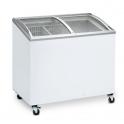Arcón Congelador Eurofred IC 200 SCEB. Tapa Corredera Cristal Curvo 720x615x949 mm