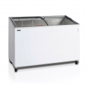 Arcón Congelador Eurofred IC 500 SCEB. Tapa Corredera Cristal Curvo 1550x615x949 mm
